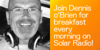 Dennis O'Brien presents the breakfast show