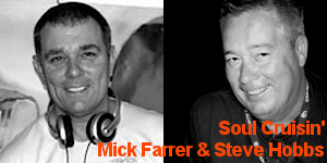 Soul Cruisin' with Mick Farrer & Steve Hobbs on solar radio