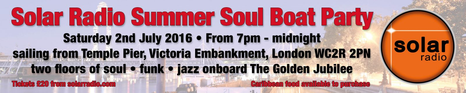 July Summer Soul Boat Party