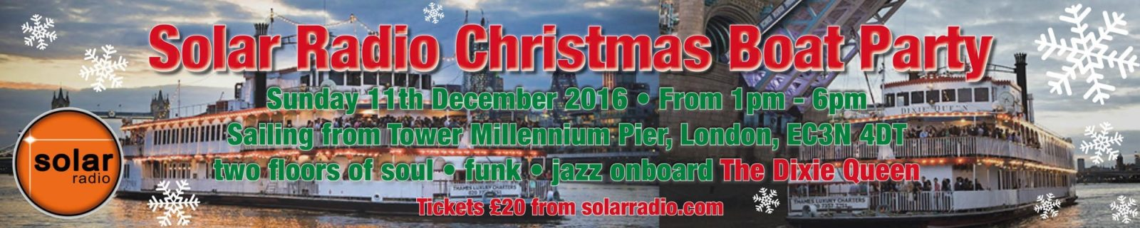 Christmas Soul Boat Party