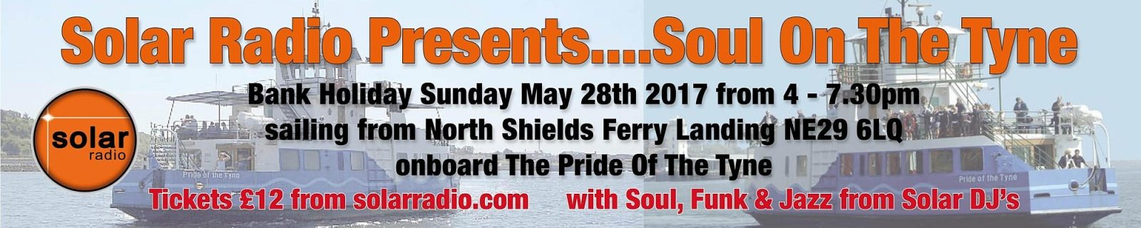 Solar Radio Presents....Soul On The Tyne
