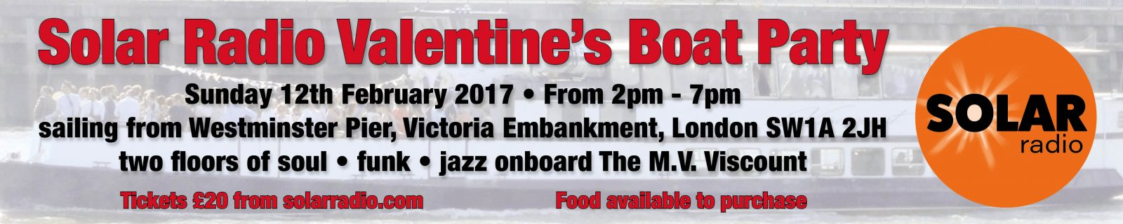 Valentines Soul Boat Party